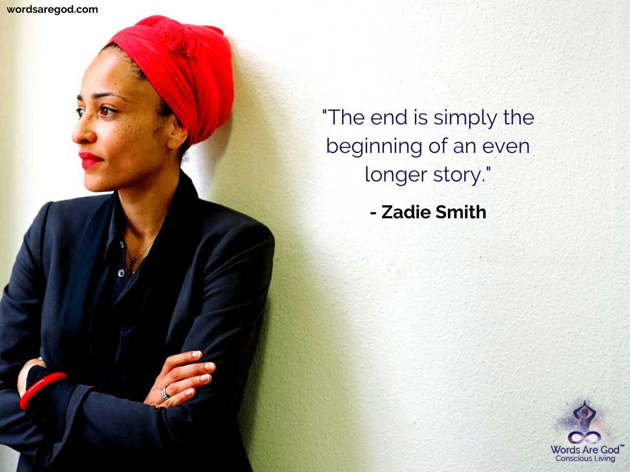 Zadie Smith inspirational Quote