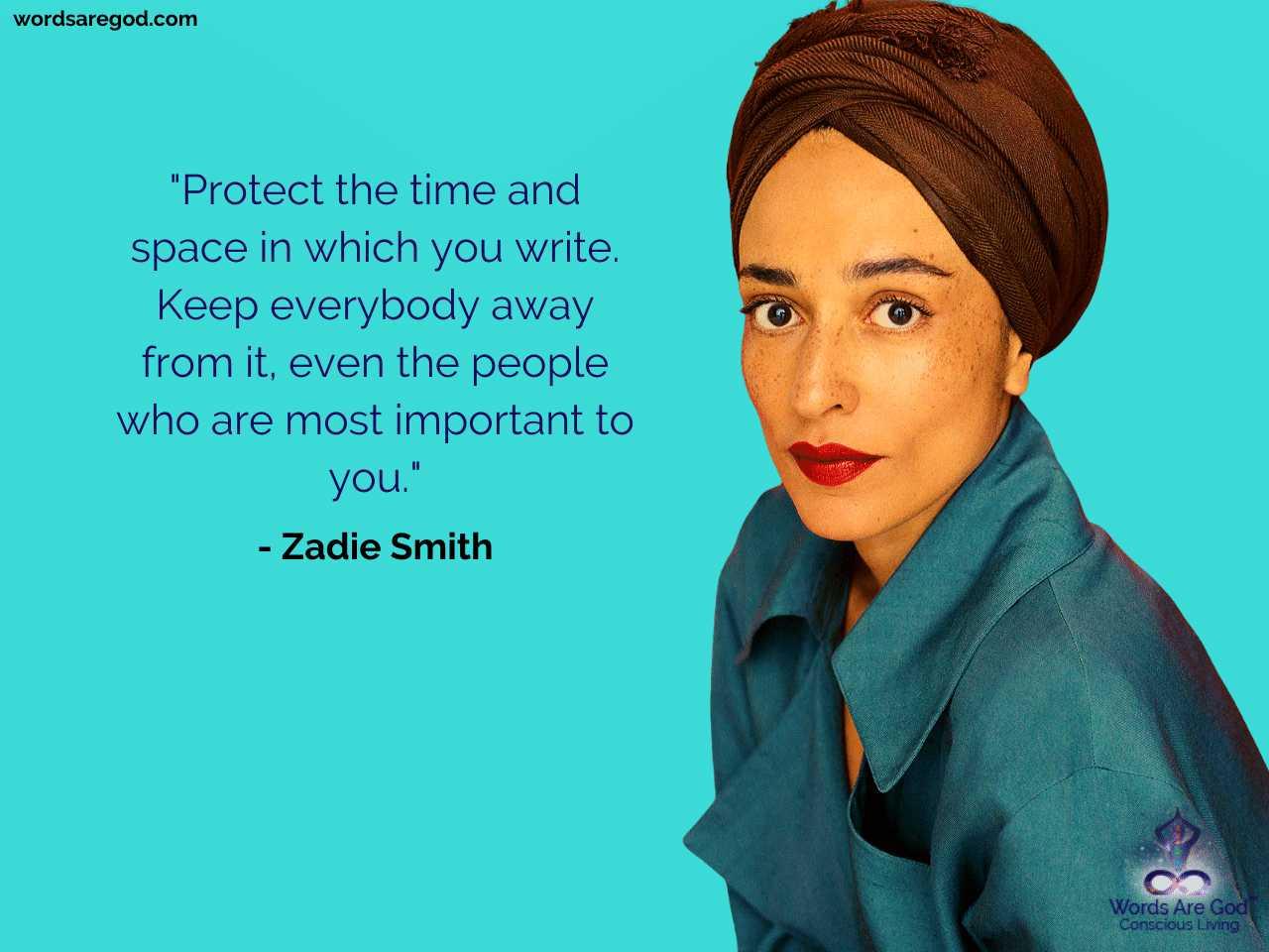 Zadie Smith Life Quote