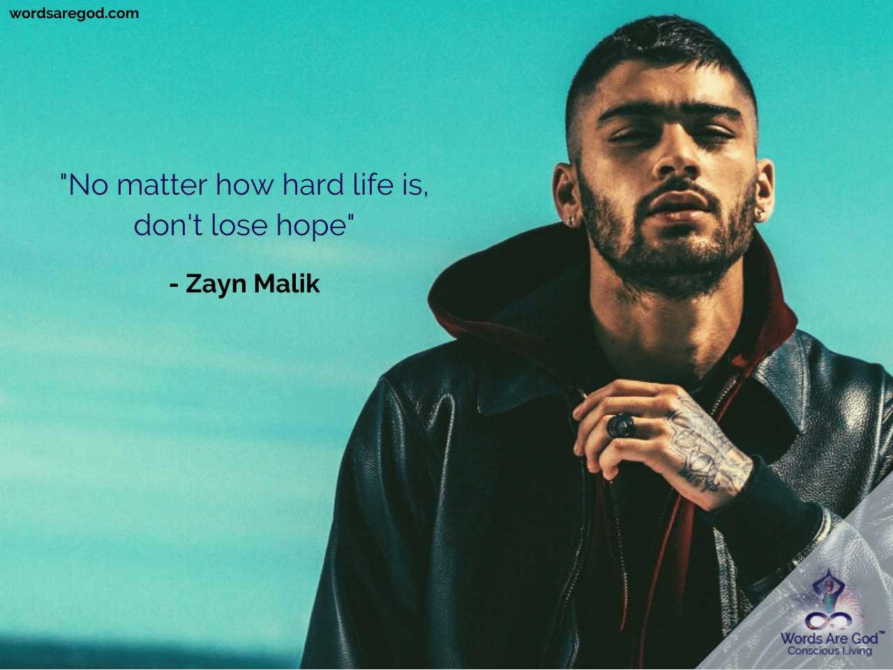 Zayn Malik Best Quote